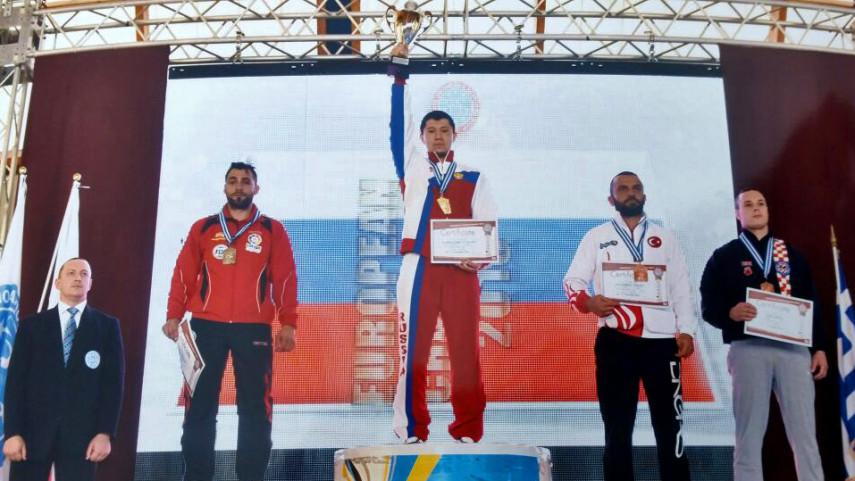 Carlos Manuel Carrasco, plata en el Europeo de full contact de Loutraki