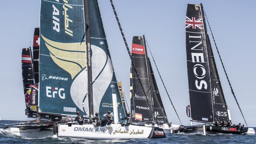 La Extreme Sailing Series de Portugal, en LaLiga4Sports